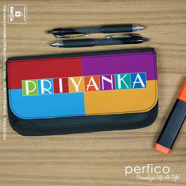 Colour Burst © Personalized Pencil Case.
