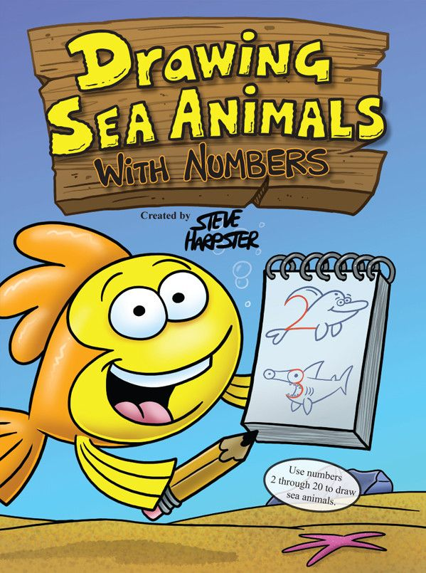 Drawing Sea Animals With Numbers
