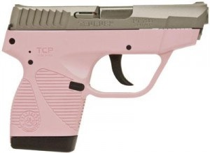 Why not? Taurus 738 TCP .380 ACP Semi-Automatic Pink Handgun for Women.... being protected matters, I guess... Price Range: $260 – $299, MSRP: $352