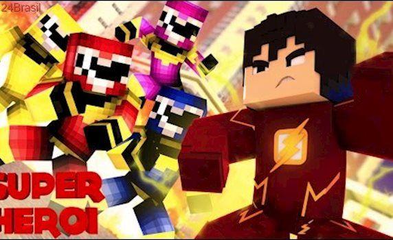 Minecraft : SUPER-HERÓI - POWER RANGERS REVERSOS VS JEAN #69