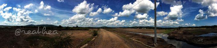 A parade of clouds, desa penyaringan,Sumbawa, Indonesia