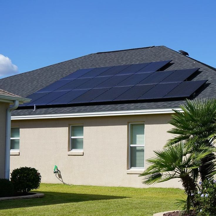______FEATURED HOME_______  LOCATION:The Villages Florida Sumter County  5kW PV System  20@solarworld_usa 275 mono black panels 20 @enphase_anz M250 Microinverters  Secured withIronRidgeXR-100 Racks and Rails  FUN SOLAR FACT OF THE DAY:  Solar panels are virtually maintenance free since the batteries require no water or other regular service and will last for years. Once solar panels are installed there are no recurring costs.  Nosotros Hablamos Espanol!  We do it all from new installs to…