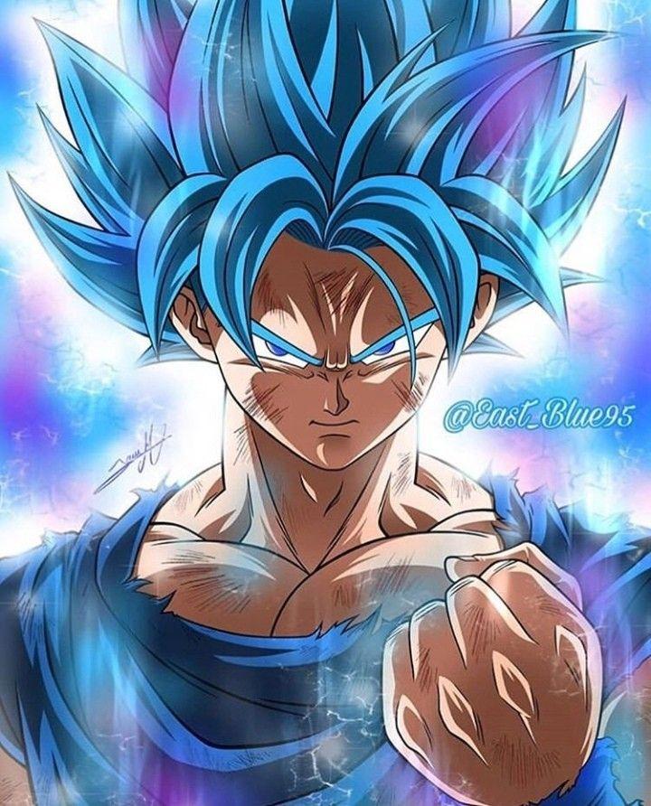 Goku Ssjb Anime Dragon Ball Super Dragon Ball Artwork Dragon Ball Goku