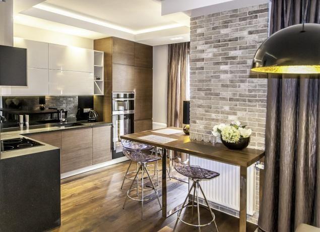 Modern, új társasházi lakás szürke és barna árnyalatokkal | Lakberendezés, Lakberendező, Lakberendezési Ötletek, Építészet