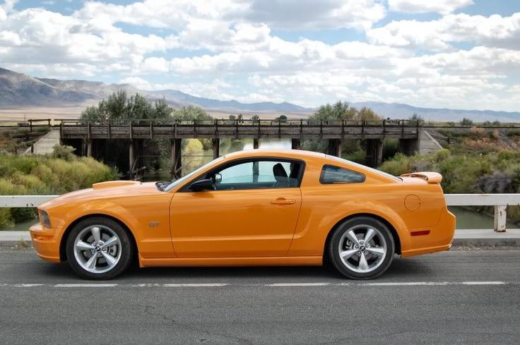 2007 Mustang GT, Grabber Orange, Manual Trans.