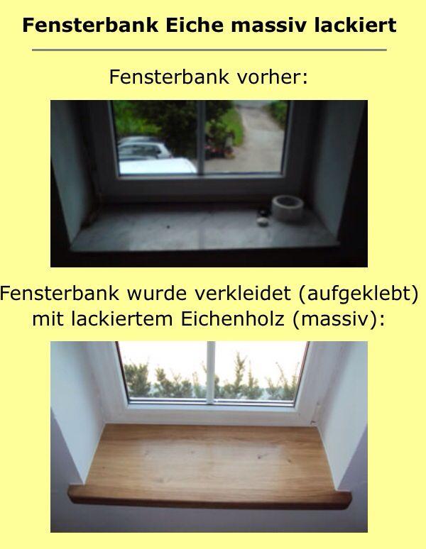 Tolle Idee für Fensterbank