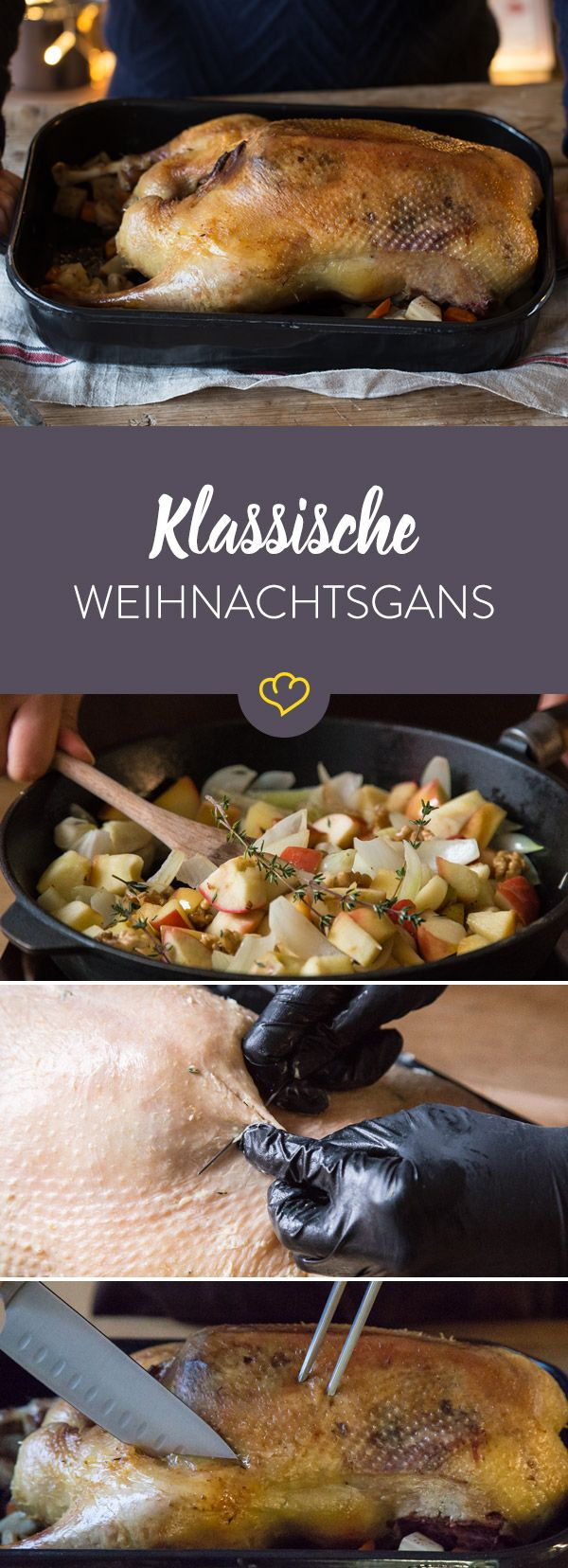 7 best Gänsebraten images on Pinterest | Xmas, Christmas meals and ...