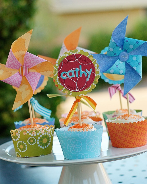 pinwheel party for the babies