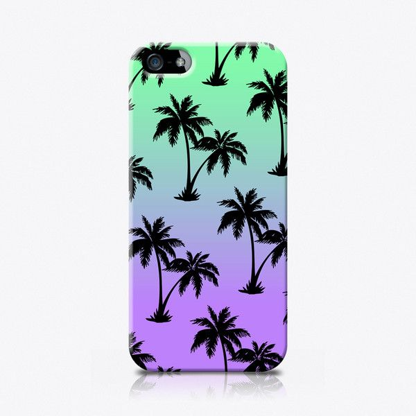 Palms ($25) ❤ liked on Polyvore featuring accessories, tech accessories, phone cases, phone, capas de iphone i tech