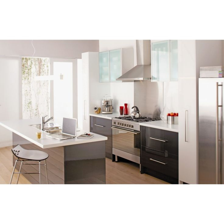 The Urban is more than just a kitchen. With its warm greys, cool whites and uber cool frosted glass, the Urban range combines contemporary style and design with practicality, creating the perfect workspace kitchen.  - See more at: http://shop.mitre10.com.au/kitchens/imagine-kitchens/urban-galley-kitchen