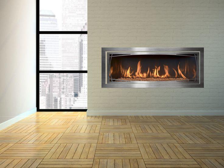 Modern Linear Fireplace  Mendota MOD ML47  Design one yourself at http 14 best FullView Modern Linear Gas Fireplace images on Pinterest  . Modern Linear Fireplaces. Home Design Ideas