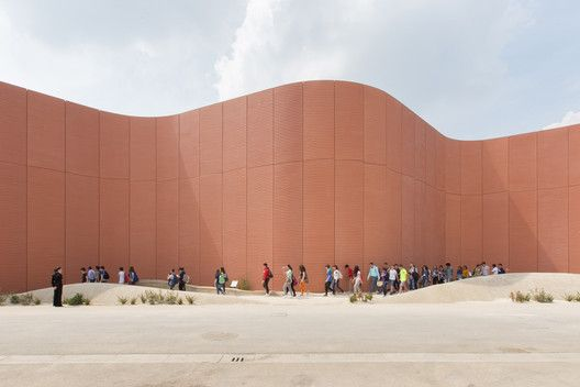 Gallery: The Top 5 Milan Expo Pavilions,UAE Pavilion – Milan Expo 2015 / Foster + Partners. Image © Laurian Ghinitoiu