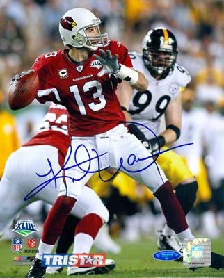 Kurt Warner Arizona Cardinals - Super Bowl XLlll - Autographed Photograph. Warner is definitely the best QB in Arizona history