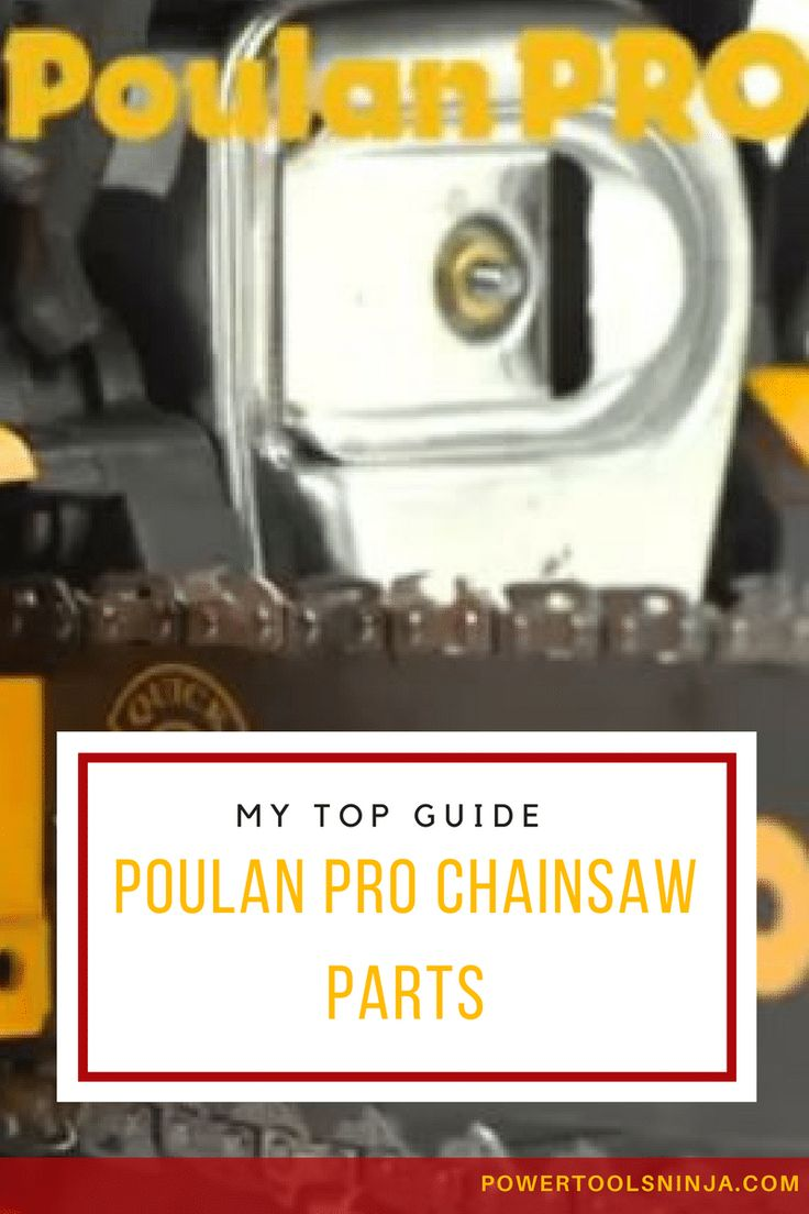 Do you have a Poulan Pro chainsaw?If yes, then read on to get some good tips and advice about the best poulan pro chainsaw parts you can find! via @powertoolsninja