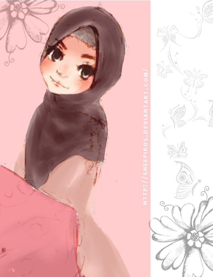 Muslimah by ~sheepikos on deviantART