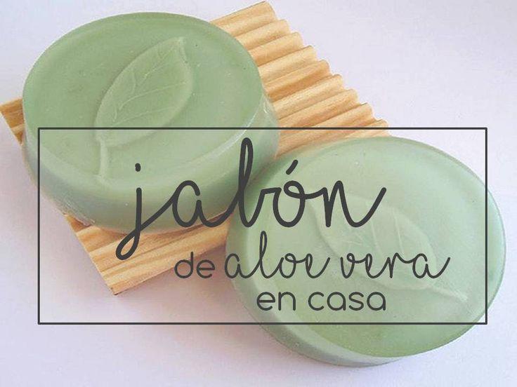 JABÓN DE ALOE VERA EN CASA