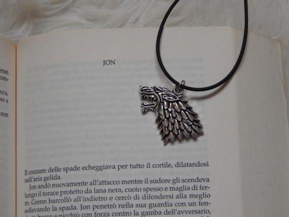Collana Game of Thrones di IlGhirigoroShop su Etsy