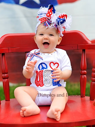 4th of july outfit - @Becky Hui Chan Hui Chan Johnson Addie needs this!!