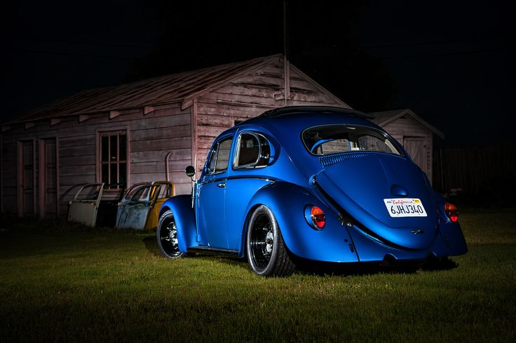 '63 Rag-top Bug with 2.0L Subaru Turbo - This Bug goes fast!