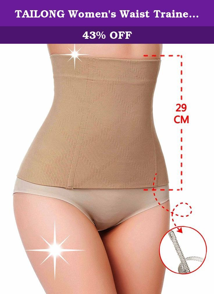 TAILONG Women's Waist Trainer Cincher Girdle Croset Body Shapewear Tummy Control (M (2-3 days delivery), Beige (local seller)). This is a Magical waist trainer,many people has witness the miracle. Once you put the waist trainer on,the hourglass waist will appear.That is the miracle of our waist trainer. Help you to weight loss the fat in the tummy and defines your waistline immediately. Supported by 4 spiral steel bones, strong material and principle to support your waistline Comfortable...