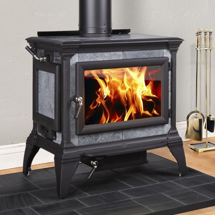 Hearthstone Heritage Soapstone Wood Stove Features A Side Load Door On Either The Left Or Right