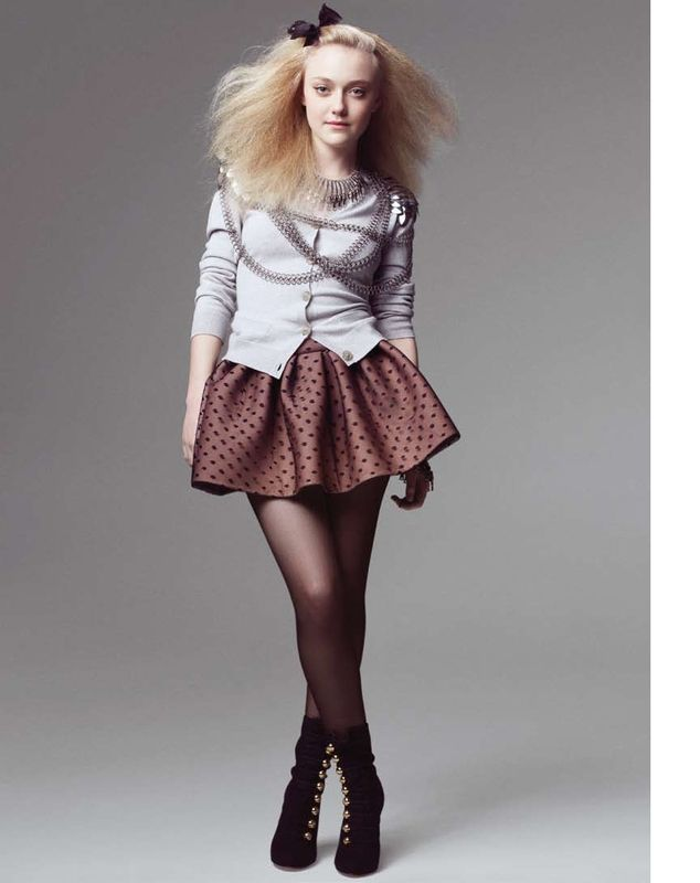 DAKOTA FANNING MARIE CLAIRE PHOTOS | Joe Anth. Tan: Dakota Fanning: Marie Claire August 2010