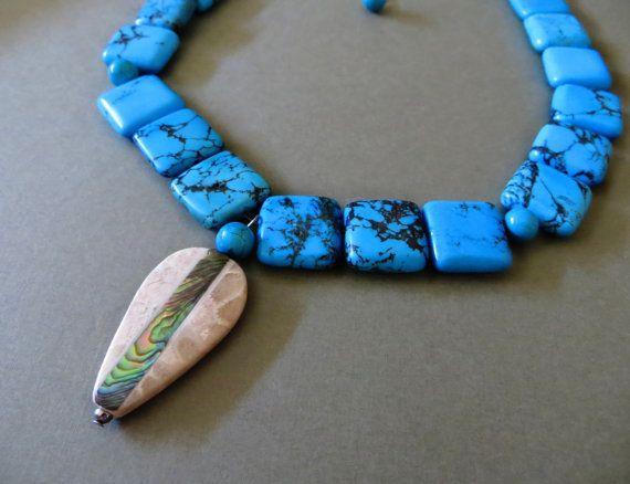 Turquoise Pocahontas Necklace- Pocahontas Inspired Jewelry
