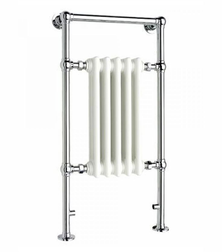Apollo Ravenna Traditional Towel Rail Chrome 500mm x 952mm - SR4
