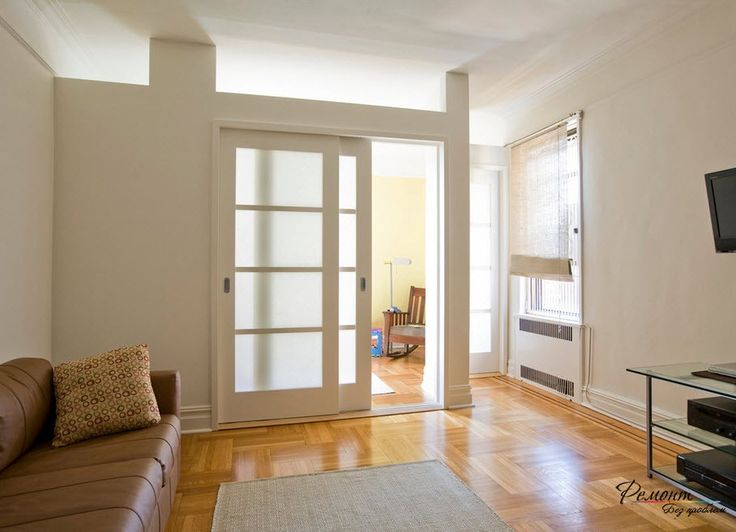 Межкомнатные раздвижные перегородки в комнате: оригинальные способы зонирования