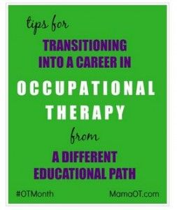 Career Corner: How to Become an OT from a Different Education Path - pinned by @PediaStaff – Please Visit ht.ly/63sNtfor all our pediatric therapy pins