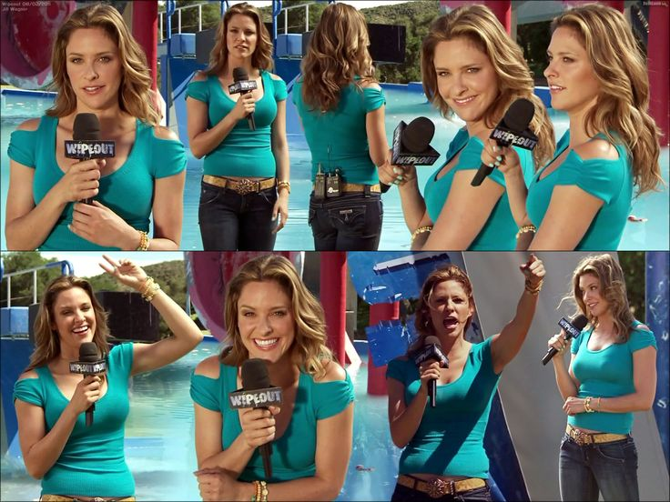 Sexy Pictures Of Jill Wagner In Wipeout Art Refs Jill