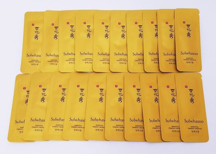 Sulwhasoo Essential Firming Cream EX Samples 20P #Sulwhasoo