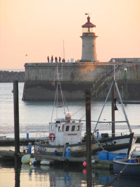 lighthouse at Ramsgate harbour many happy hols here in broadstairs also