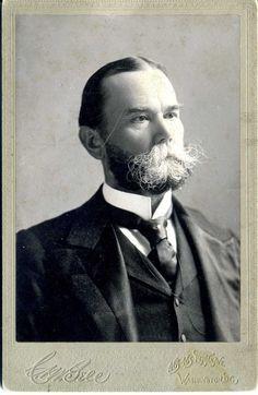 *ABRAHAM LINCOLN ~ Private Secretary John Hay c1880 Cabinet Photo Author Diplomat