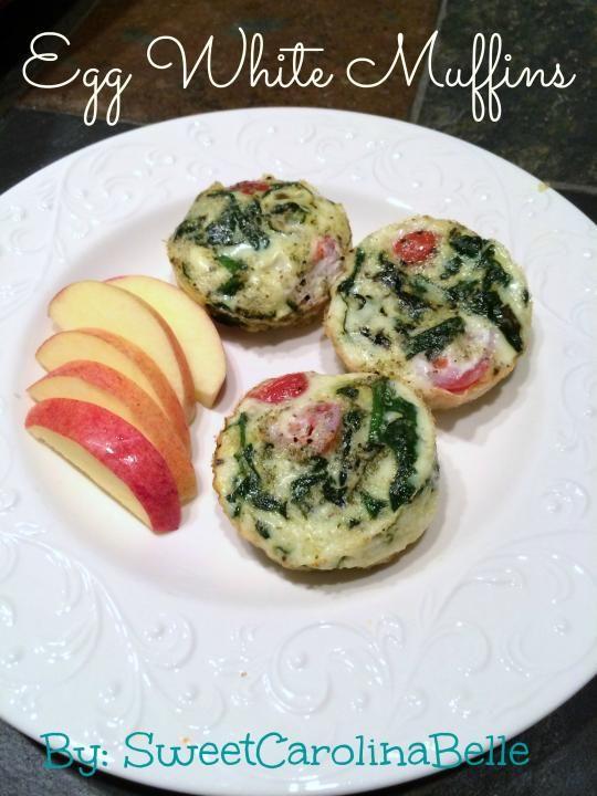 Tone It Up - Recipe Profile - Slim Egg White Muffins