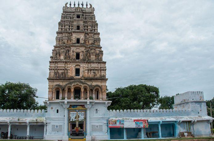 Gopuram of Sri Rama Chandra Swamy Temple Ammapalle