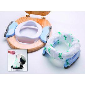 Potette(MD) Siège d'entrainement pliable et toilette de voyage avec sacs jetables - Sears