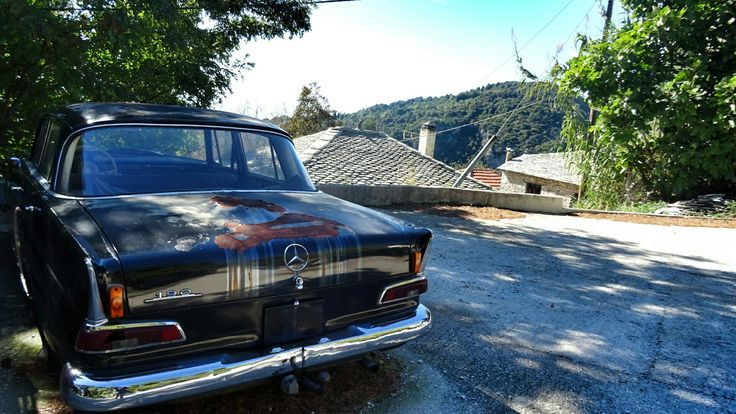 #abandonedcar#Mercedes #volos#pelion#discovervolos#discoverpelion#amazingview#Greece