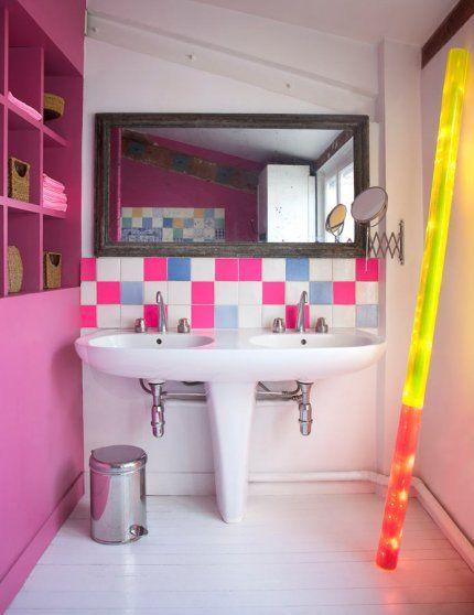 46 best SDB   SD images on Pinterest Bathroom ideas, Room and Children - exemple de maison moderne