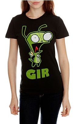 Invader Zim Gir T-Shirt; HotTopic.com Clearance