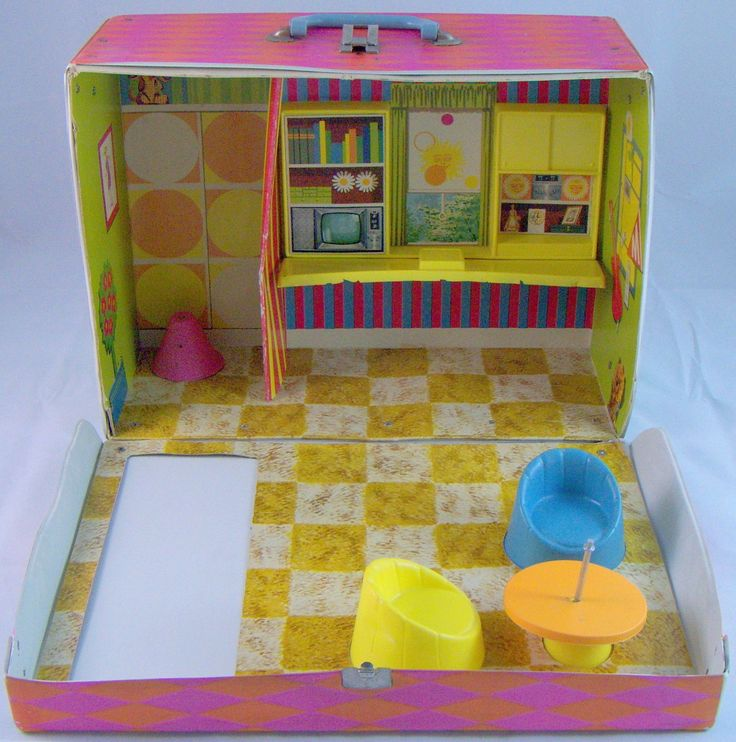 Playroom Workroom Bedroom 1965: 293 Best Images About Dollhouse On Pinterest