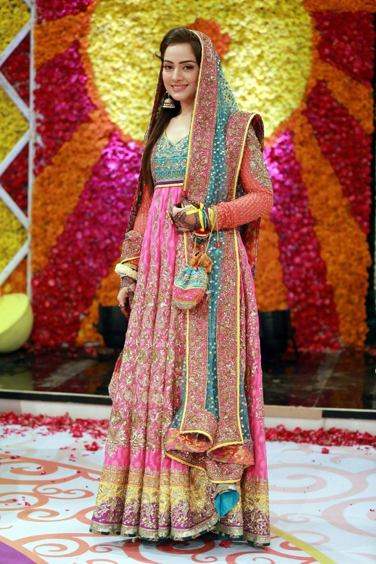 Pakistani Bride On Mehndi Day | Pakistani Casual/Bridal Wear | Pinterest | Mehndi Pakistani And ...