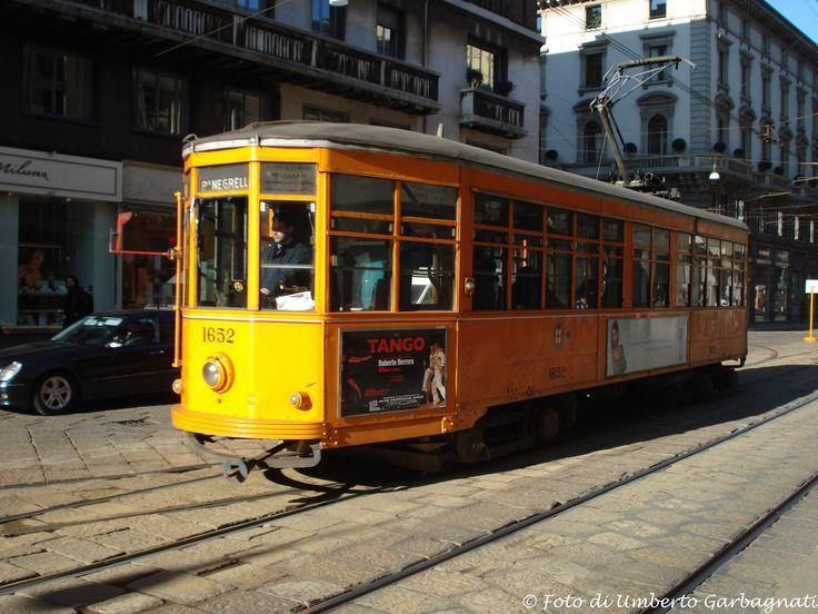 .... vettura (Peter Witt del 1928) versione colore arancio, ATM-1652 .... 13 febb 2009 - © Umberto Garbagnati -
