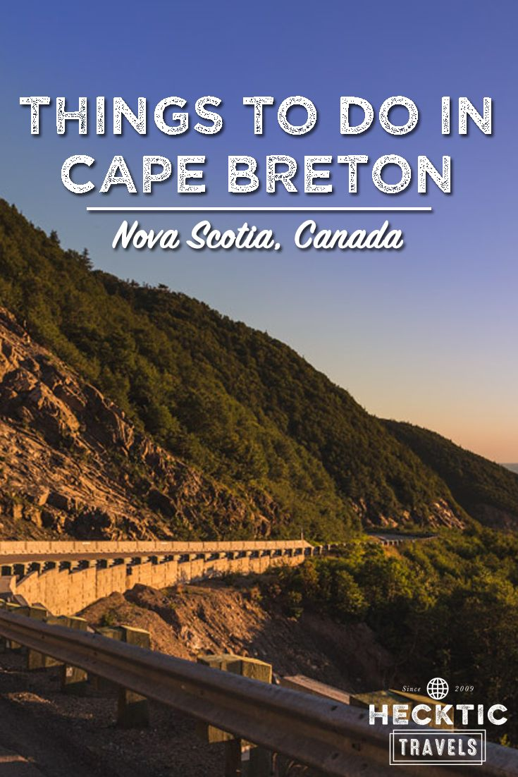 Things to do in Cape Breton Island   Things to do in Nova Scotia   A Guide to Visiting Cape Breton in Nova Scotia   Everything you should do in Cape Breton. HeckticTravels.com #novascotia #capebreton #canada