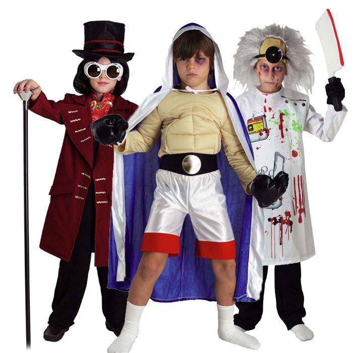 αποκριάτικες στολές για αγόρια - στολές σε διάφορα θέματα