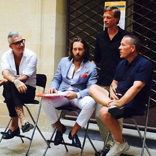 #domenicogianfrate #gianfrateshowroom #Lecce #Liberrima #library #presentation #interview #meeting #book #friend #ScottSchuman @thesartorialist #Puglia #SeeYouSoon