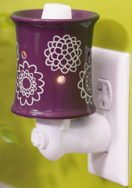 Scentsy Diasy Craze Plug In Warmer Scents Wickless
