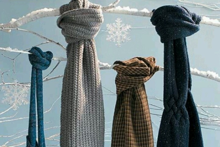 118 best Different Ways to Tie a Winter Scarf images on ...