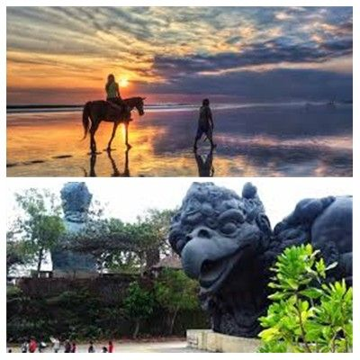 Bali Horse Riding and Uluwatu Tour