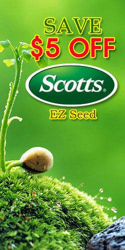 #Save $5 Off #Scott's EZ Seed #Coupon